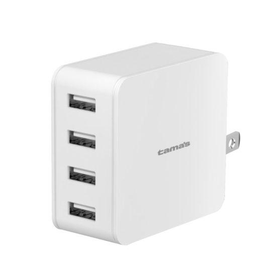 コンセントチャージャー 4.8A USB−A×4ポート スマートパワーセレクト A113Uモデル