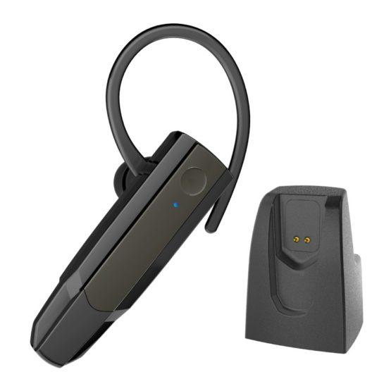 テレワーク対応 Bluetoothヘッドセット Ver5.0 充電クレードル付き BM27CRモデル