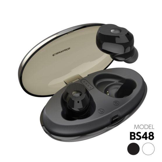 完全ワイヤレスイヤホン AAC対応 Bluetooth Ver5.0 BS48モデル