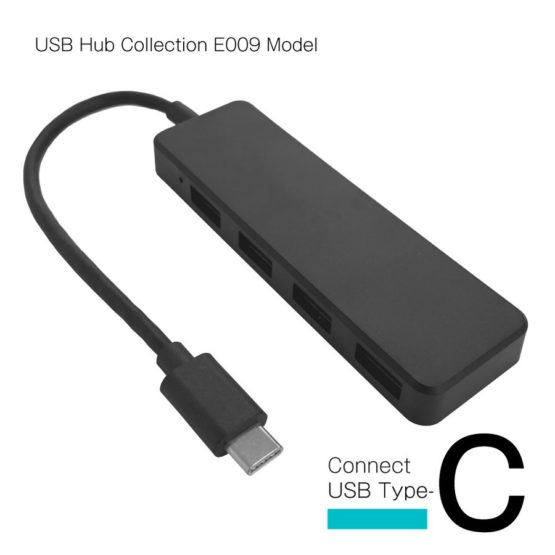 WEB限定販売 USBハブ USB3.1 Gen1 タイプC接続 USB−A×4ポート E009モデル