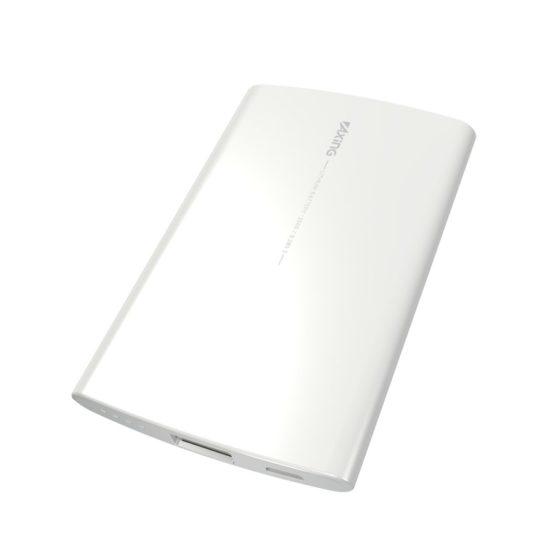 モバイルバッテリー2500mAh USB−A×1ポート付き microUSBケーブル付属 PL65SUモデル