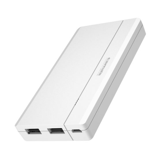 モバイルバッテリー6800mAh USB−A×2ポート付き Type−Cケーブル付属 PL79SCAモデル