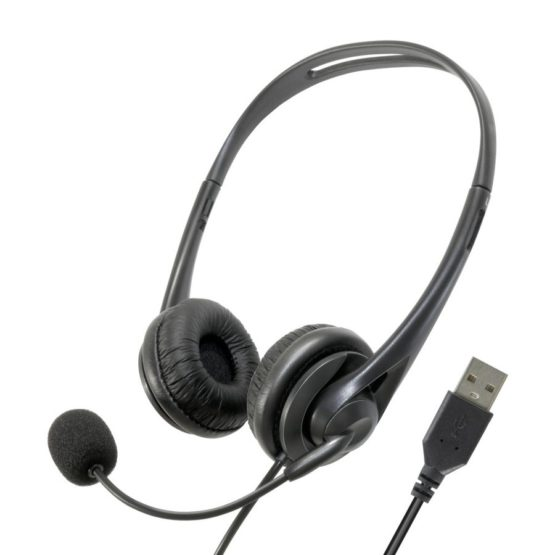 有線ヘッドセット USB TypeーAプラグ テレワーク マイク付き オンイヤータイプ ボリュームコントローラー SH70Uモデル