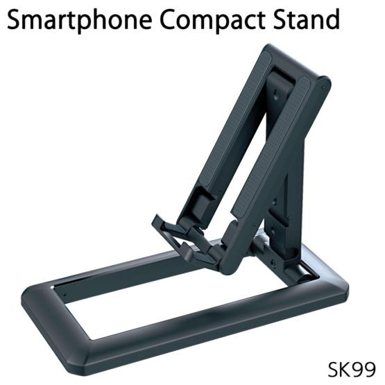 スマホスタンド コンパクトタイプ 折りたたみ式 スマートフォン・小型タブレット用 SK99モデル